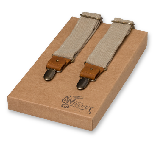 Wiseguy Suspenders The Duck Canvas - Beige (1)