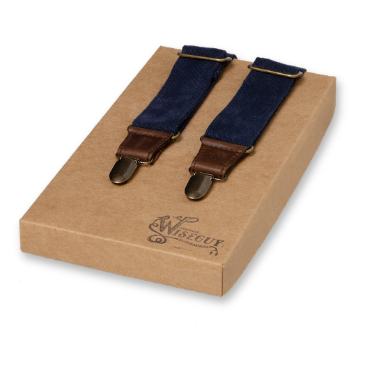Wiseguy Suspenders - The Duck Jeans Blue (1)